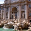 Trevi Fountain, Roma, Italy — Stock Photo #2124499