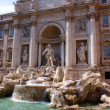 Trevi Fountain, Roma, Italy — Stock Photo