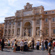 Stock Photo: Trevi Fountain, Roma, Italy