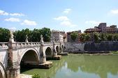 Bridge - Ponte Sant Angelo, Vatican — Stock Photo