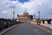 Ponte Sant Angelo, Vatican — Stock Photo