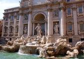 Trevi Fountain, Roma, Italy — Stock Photo