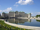 Vienna-castle — Stock Photo