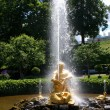 Fountain Triton — Stock Photo