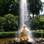 Fountain Triton — Stock Photo