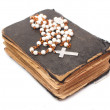 Old holy bible — Stock Photo