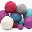 Yarn clews — Stock Photo