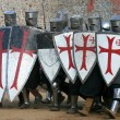 Stock Photo: Knightly tournament