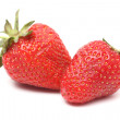 Two berry of a strawberry — Stock Photo