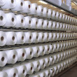 Stock Photo: Manufacture of threads
