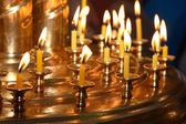 Church candles — Stock Photo