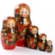 Matryoshka - Russian Nested Dolls — Stock Photo #1995393