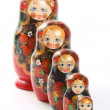 Matryoshka - Russian Nested Dolls — Stock Photo #1995415
