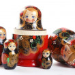 Russian nested dolls — Stock Photo #1995445