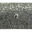 Metal engraved texture — Stock Photo #1925385
