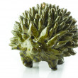 Ceramic glazed hedgehog — Stock Photo