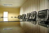 Empty board room — Stockfoto
