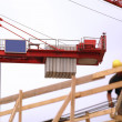 Stock Photo: Building construction site