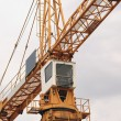 Stock Photo: Construction site crane
