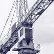Construction site crane — Stockfoto #1984925