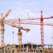 Building construction site — Foto Stock #1985985