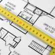 Home architectural plans — Stock Photo #1986914