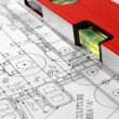 architectural plans — Stock Photo
