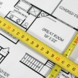 Architectural plans — Stock Photo #1988561