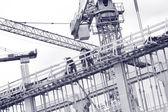 Estaleiro de construção — Foto Stock