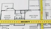 дом страхование и безопасность — Стоковое фото