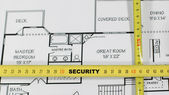 房子保险和安全 — 图库照片