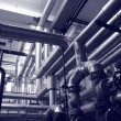 Foto de Stock  : Oil and gas technology systems