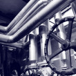 Stock Photo: Industry gas and oil systems