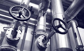 Industria de sistemas de gas y petróleo — Foto de Stock