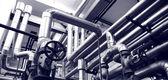 Przemysł systemów gazu i ropy naftowej — Zdjęcie stockowe