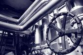 工业气体和油系统 — 图库照片