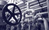 Systemy technologii ropy naftowej i gazu — Zdjęcie stockowe