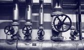 Rurociągi naftowe i gazowe — Zdjęcie stockowe