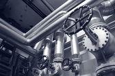 öl und gas-systeme — Stockfoto