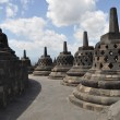 Borobudur Temple, Java, Indonesia — Foto de stock #2059912
