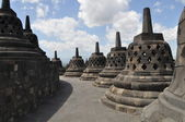 Borobudur Temple, Java, Indonesia — Stock Photo