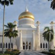 Stock Photo: SultOmar Ali Saifuddin Mosque