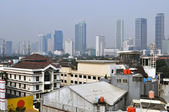 Cityscape of Jakarta — Stock Photo