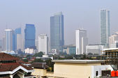 Cityscape of Jakarta — Stock Photo