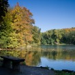 Bench by the lake — Stock Photo #2035321