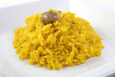 Saffron rice — Stock Photo
