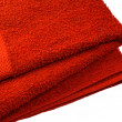 Stock Photo: Red serviette