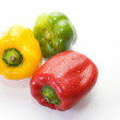 Pepper of three colors - Stock Photo