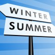 From winter to summer — Stock Photo #1984507