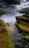 Wasser, Himmel und Stein — Stockfoto